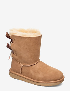 K Bailey Bow II - winter boots - chestnut