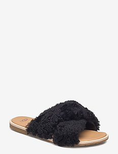 W Joni - flate sandaler - black