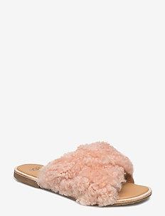W Joni - platta sandaler - suntan