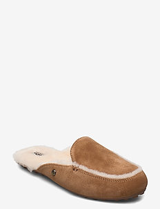 W. Lane - slippers - chestnut