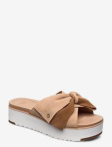 W Joanie - platta sandaler - bronzer