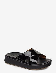 W Emily - flate sandaler - black