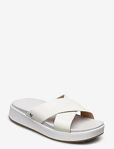 W Emily - flate sandaler - white