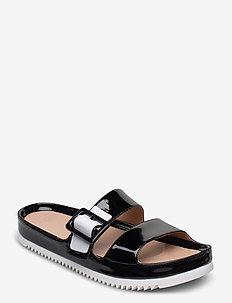 W Cooper - flate sandaler - black