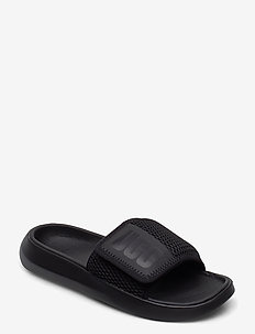 W LA Light Slide - flate sandaler - black / black