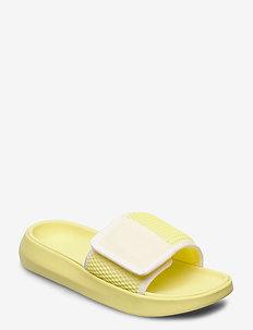 W LA Light Slide - flate sandaler - white / margarita