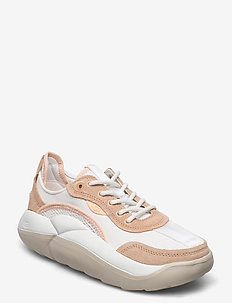 W LA Cloud Low - lage sneakers - wht/bronz/peach fuzz
