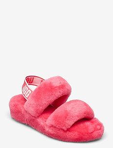 W Oh Yeah - platte sandalen - strawberry sorbet