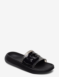 W Hilama Slide - pool sliders - black