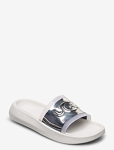 W Hilama Slide - pool sliders - white