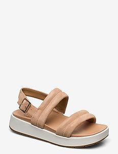 Lynnden - platte sandalen - bronzer