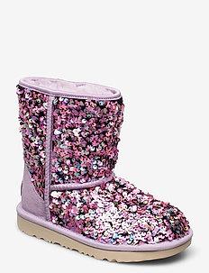 K ClassicII Stel Seq - vinter boots - lilac frost