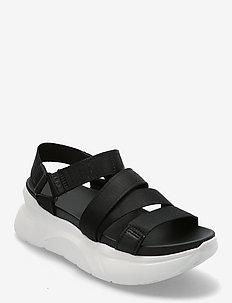 W LA Shores - platte sandalen - black