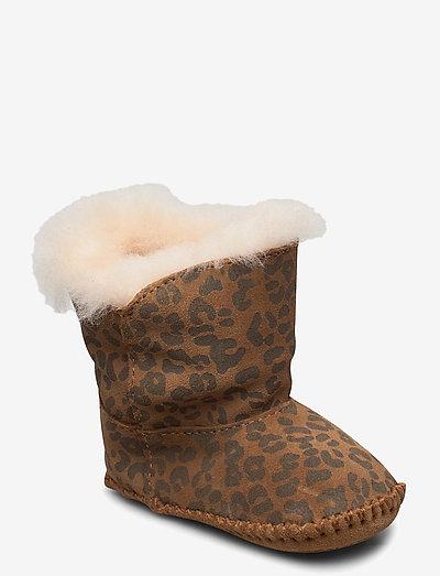 I Cassie Leopard - vinterstøvler - chestnut leopard