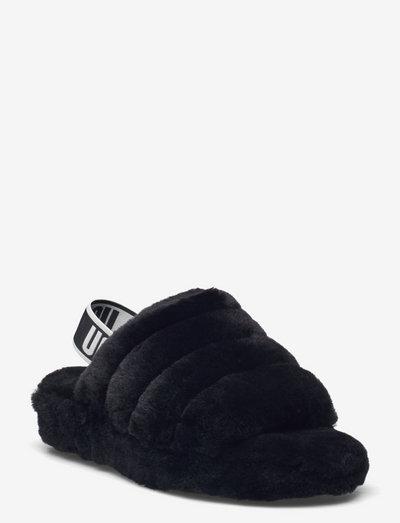W Fluff Yeah Slide - hjemmesko - black
