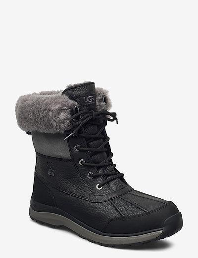 W Adirondack III - flade ankelstøvler - black