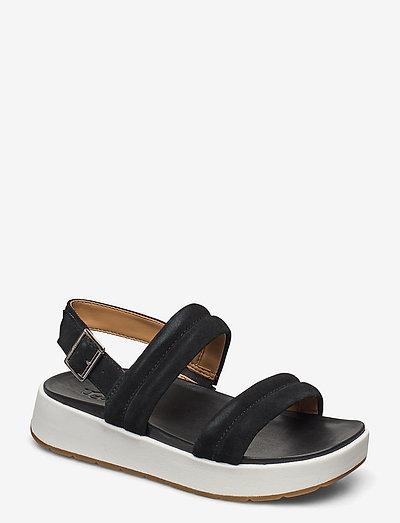 Lynnden - flade sandaler - black