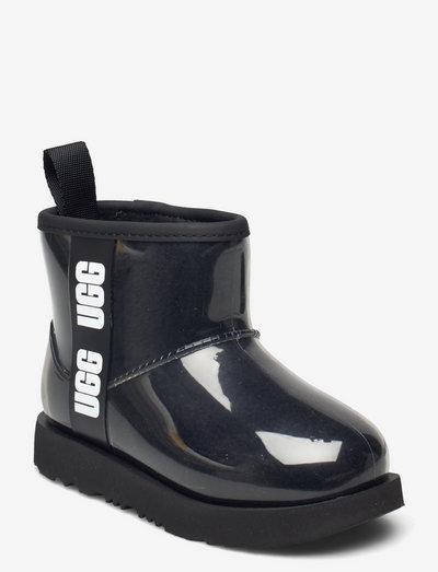 K ClassicClearMiniII - forede gummistøvler - black