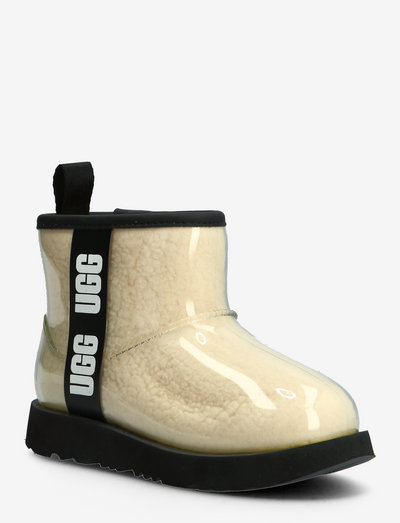 K ClassicClearMiniII - forede gummistøvler - natural / black