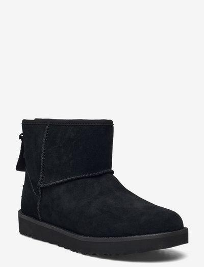 W Classic Mini L Zip - flade ankelstøvler - black