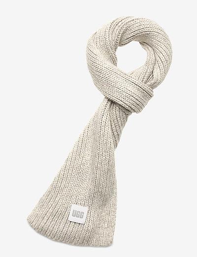 W CHUNKY RK SCARF - halstørklæder - light grey