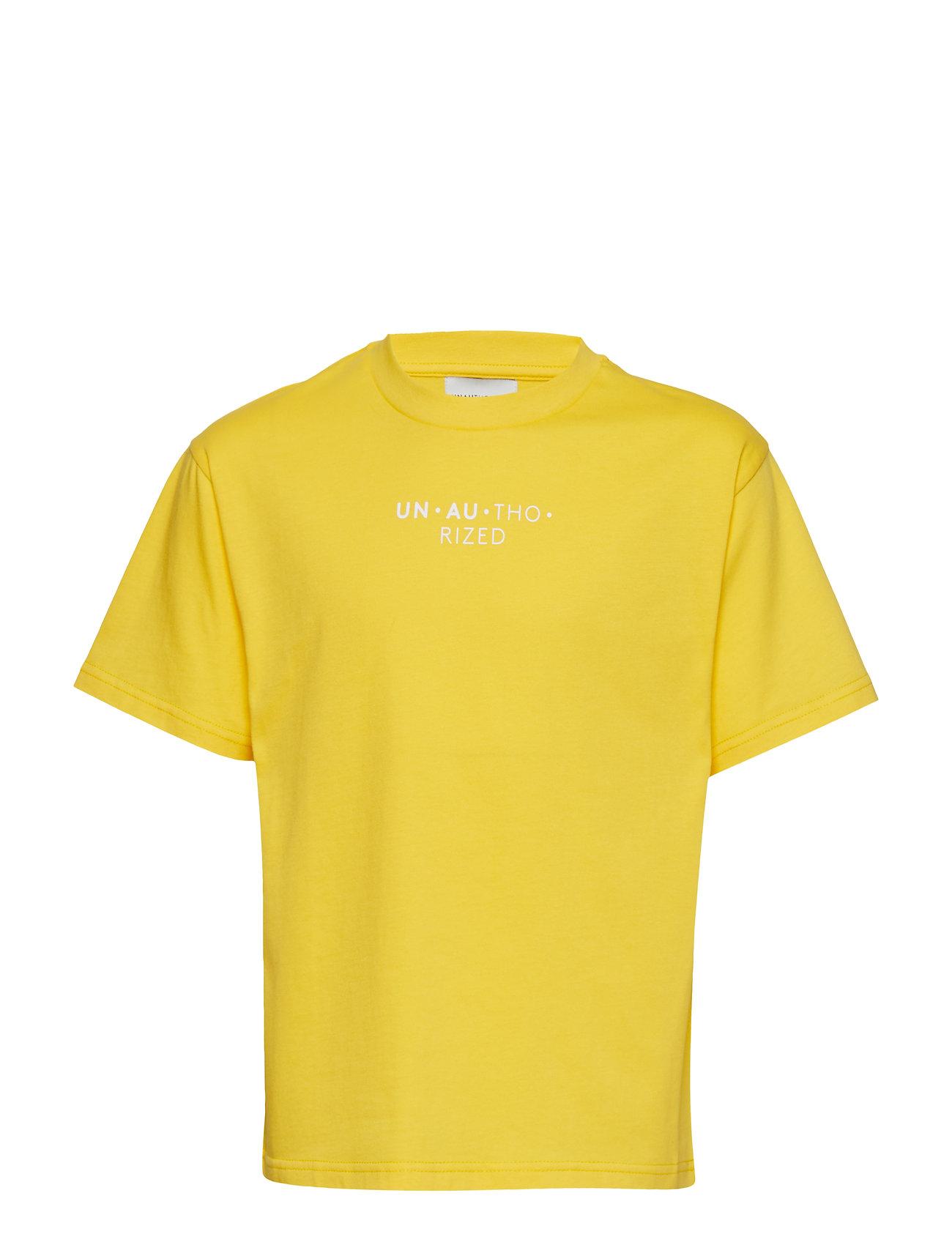 Unauthorized Lucas T-shirt - YELLOW LEMON