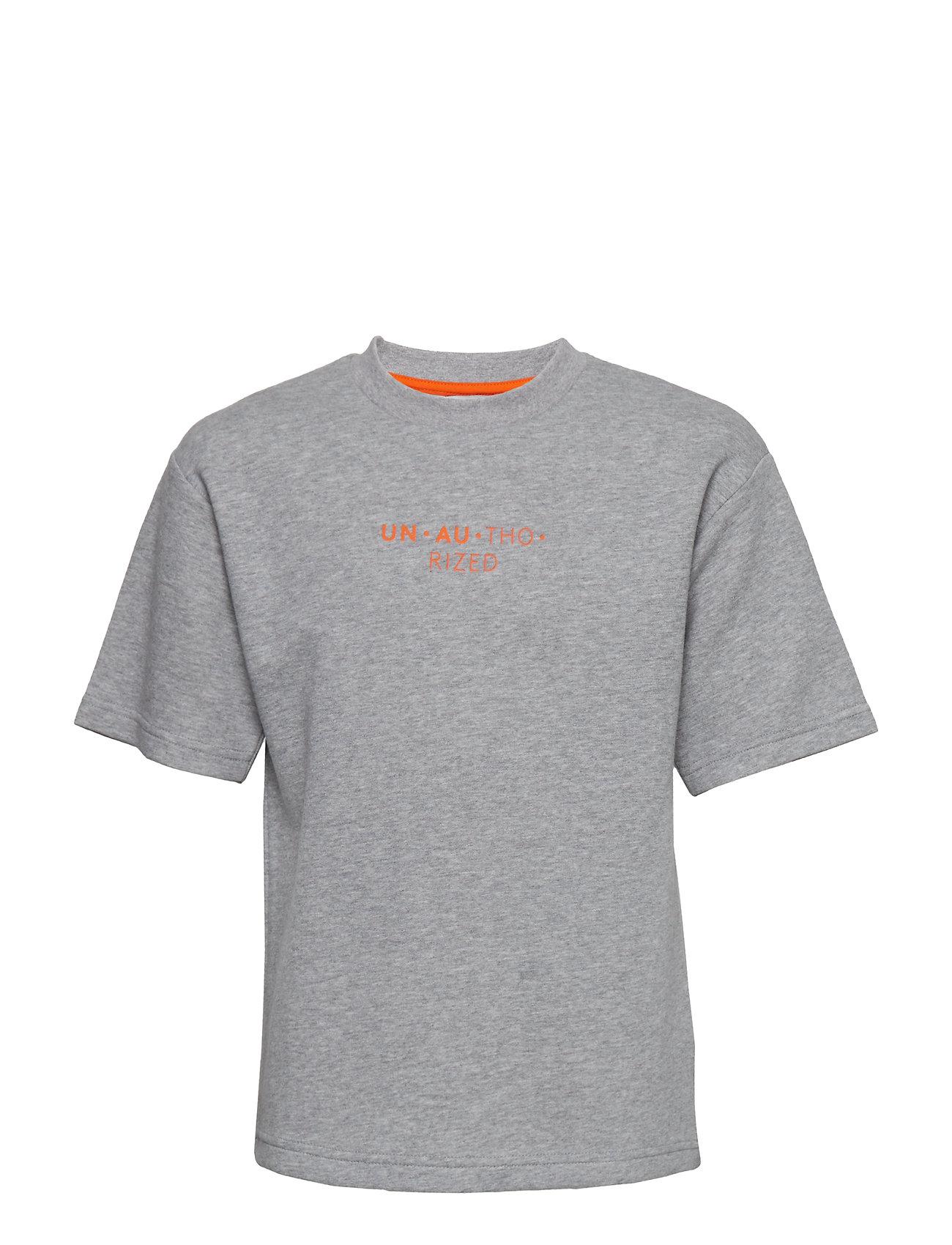 Unauthorized Lucas T-shirt - GREY MELANGE