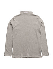 Emil blouse, K - LIGHT GREY MELANGE