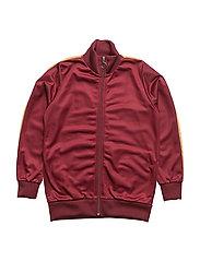 Kalle track jacket, K - CHOCOLATTE TRUFFLE