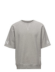 Sean T-shirt, A - LIGHT GREY MELANGE