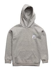 Konrad hoodie, K - LIGHT GREY MELANGE