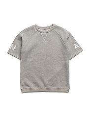 Sean T-shirt, K - LIGHT GREY MELANGE