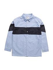 Valdemar shirt, K - CASHMERE BLUE