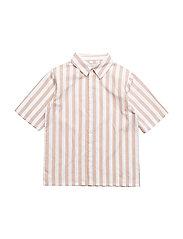 Isaak Shirt, K - ALMONDINE