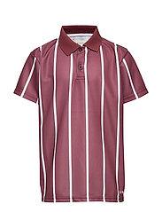 Antonio Football Shirt, K - BURGUNDY