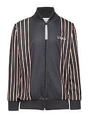 Josef Track Jacket, K - ANTHRACIT BLACK