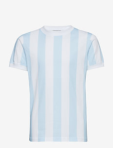 Devon T-shirt - OMPHALODES BLUE