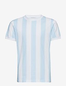 Devon T-shirt - OMPHALODES BLUE