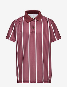Antonio Football Shirt, K - BURGUNDY