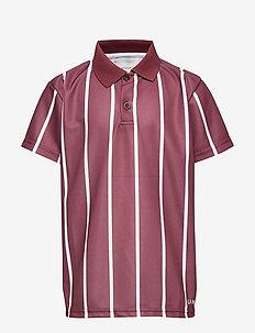 Antonio Football Shirt, K - poloskjorter - burgundy