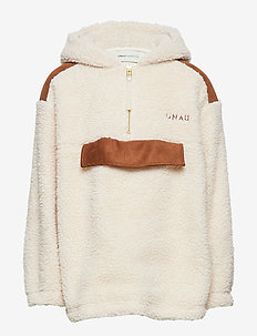 Teddy Pullover, K - strikkevarer - powder puff