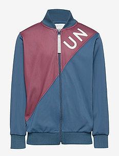 Hjalmar Track Jacket, K - sweatshirts - orien blue