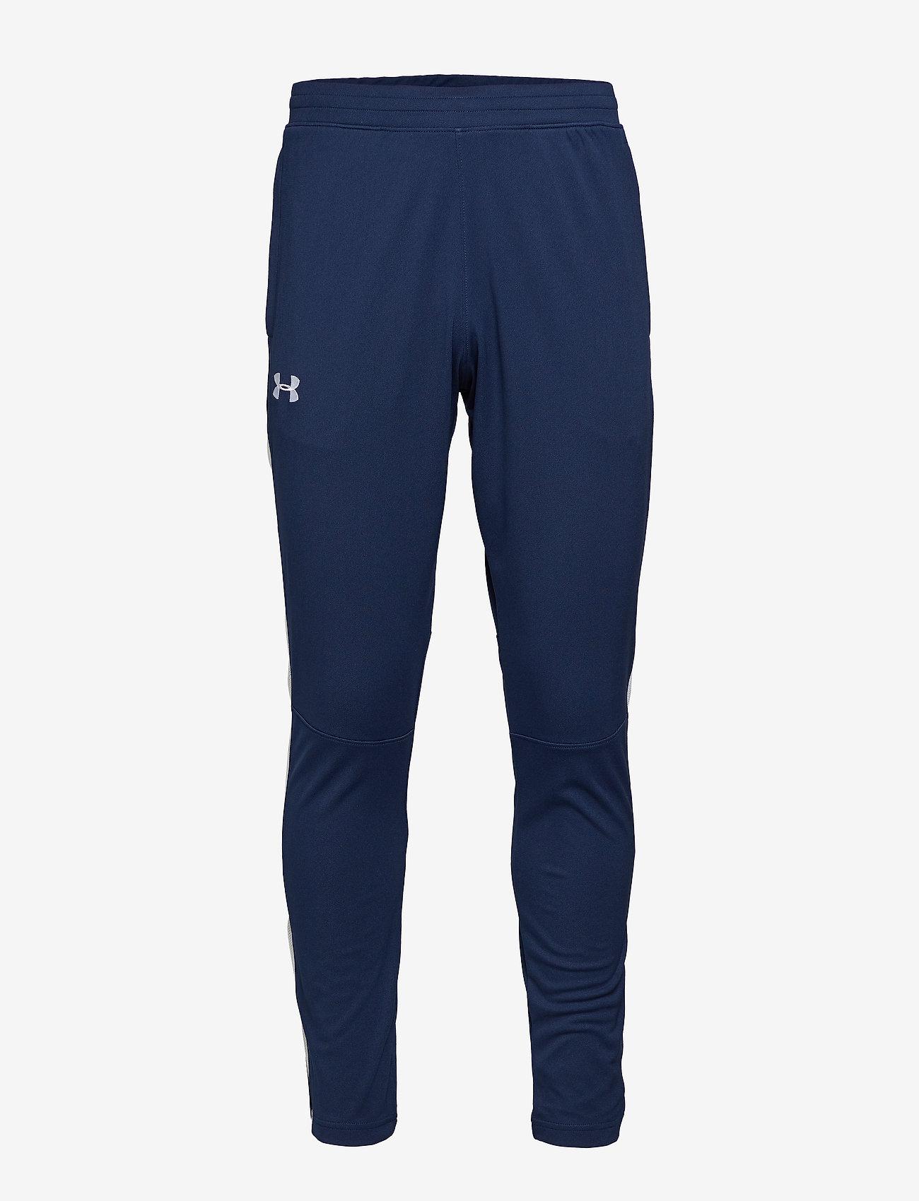 Under Armour - SPORTSTYLE PIQUE TRACK PANT - spodnie treningowe - academy - 0