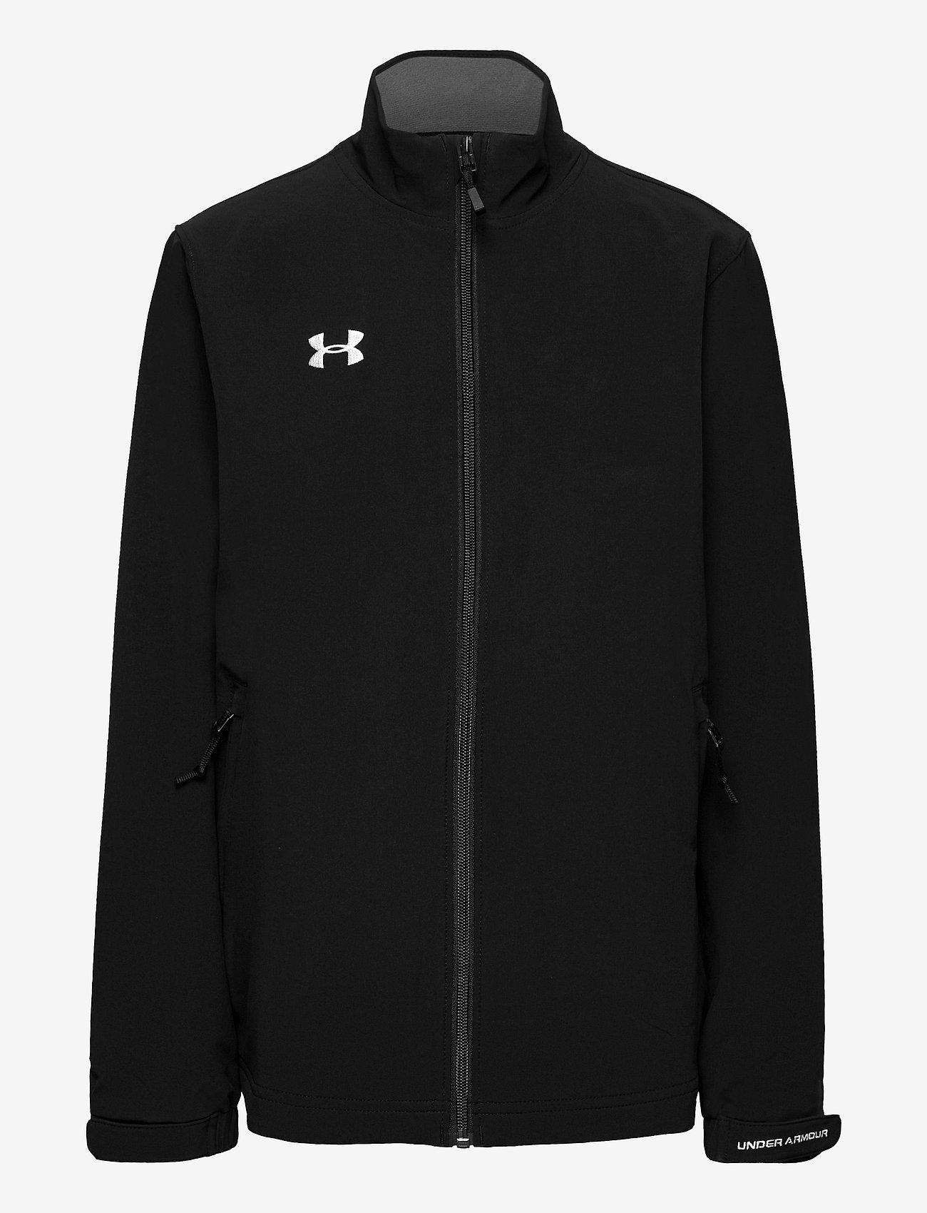 Under Armour - Hockey Warm Up Jacket - softshell-jakker - black - 0