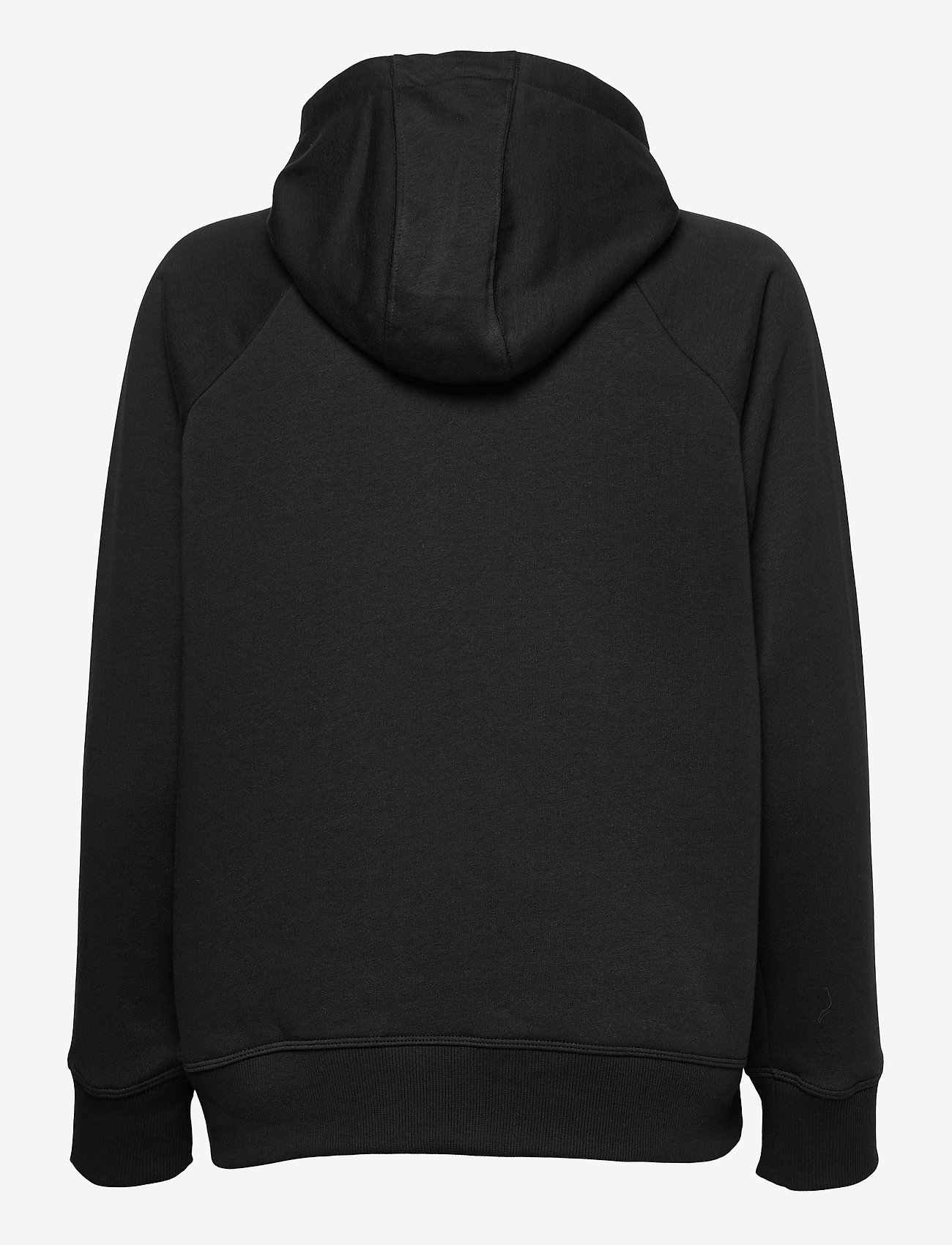 Under Armour - Rival Fleece Logo Hoodie - huvtröjor - black - 1