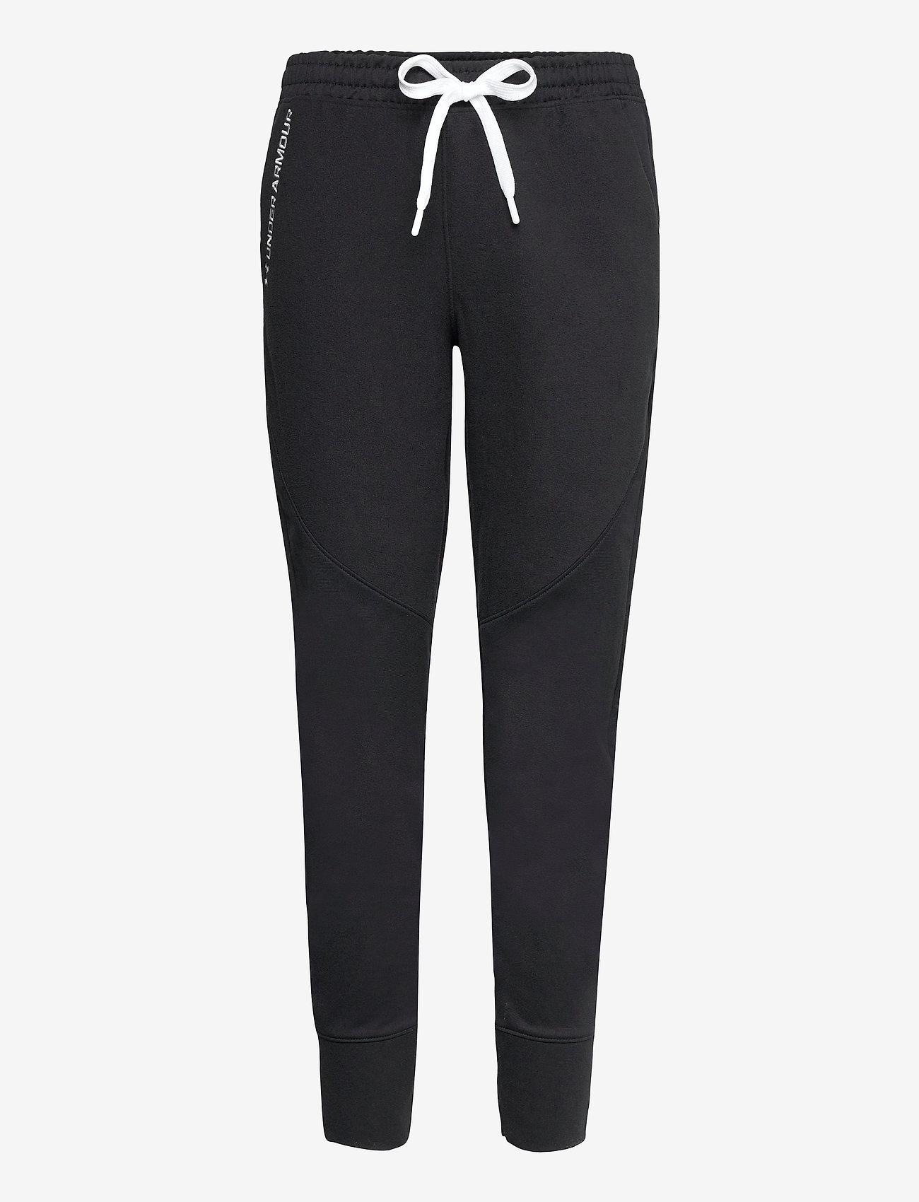 Under Armour - Recover Fleece Pants - sportbroeken - black - 0