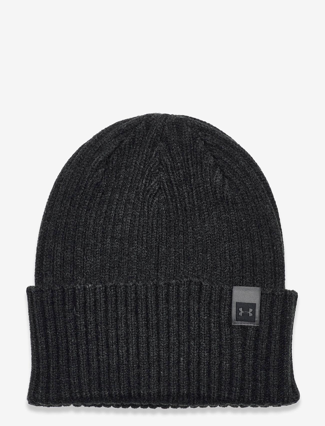 Under Armour - UA Truckstop Pro Beanie - bonnet - black medium heather - 0