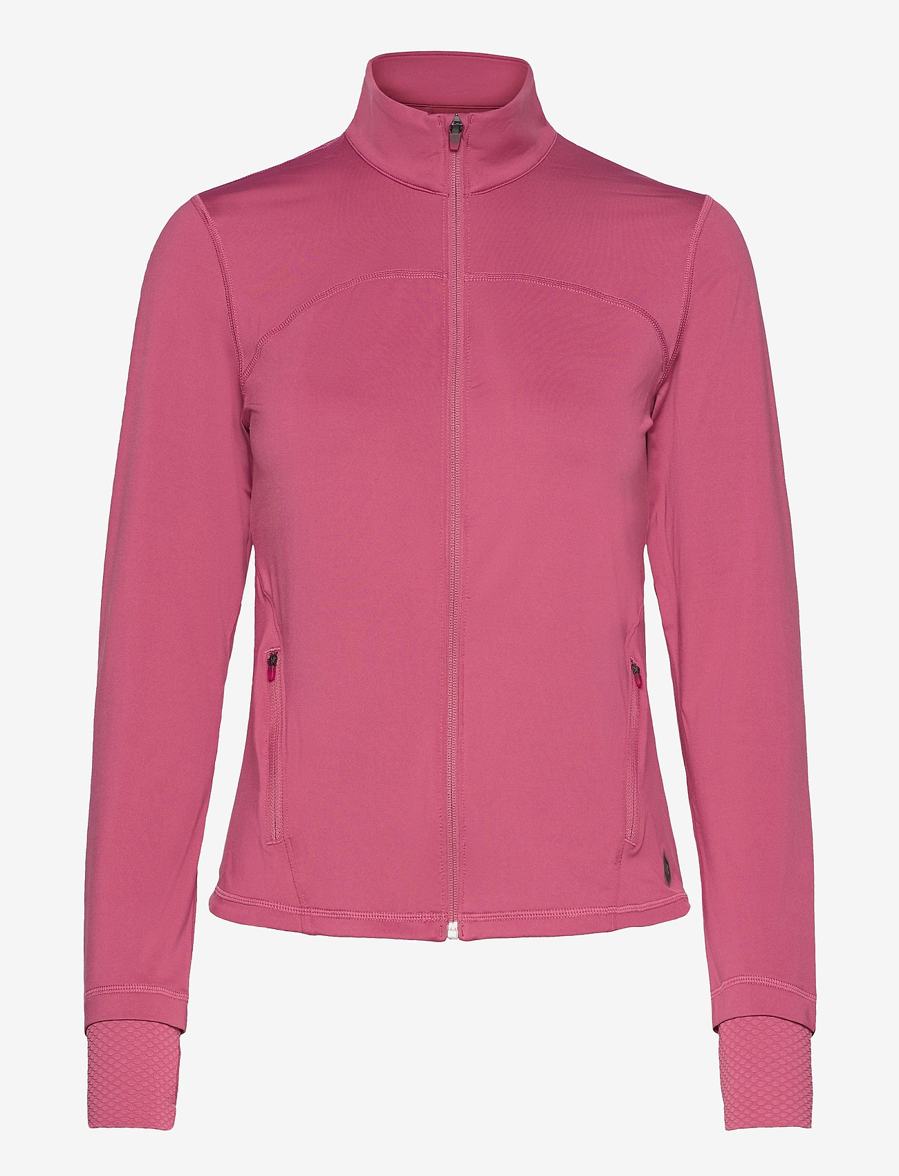 Under Armour - RUSH FZ - träningsjackor - pink quartz - 0