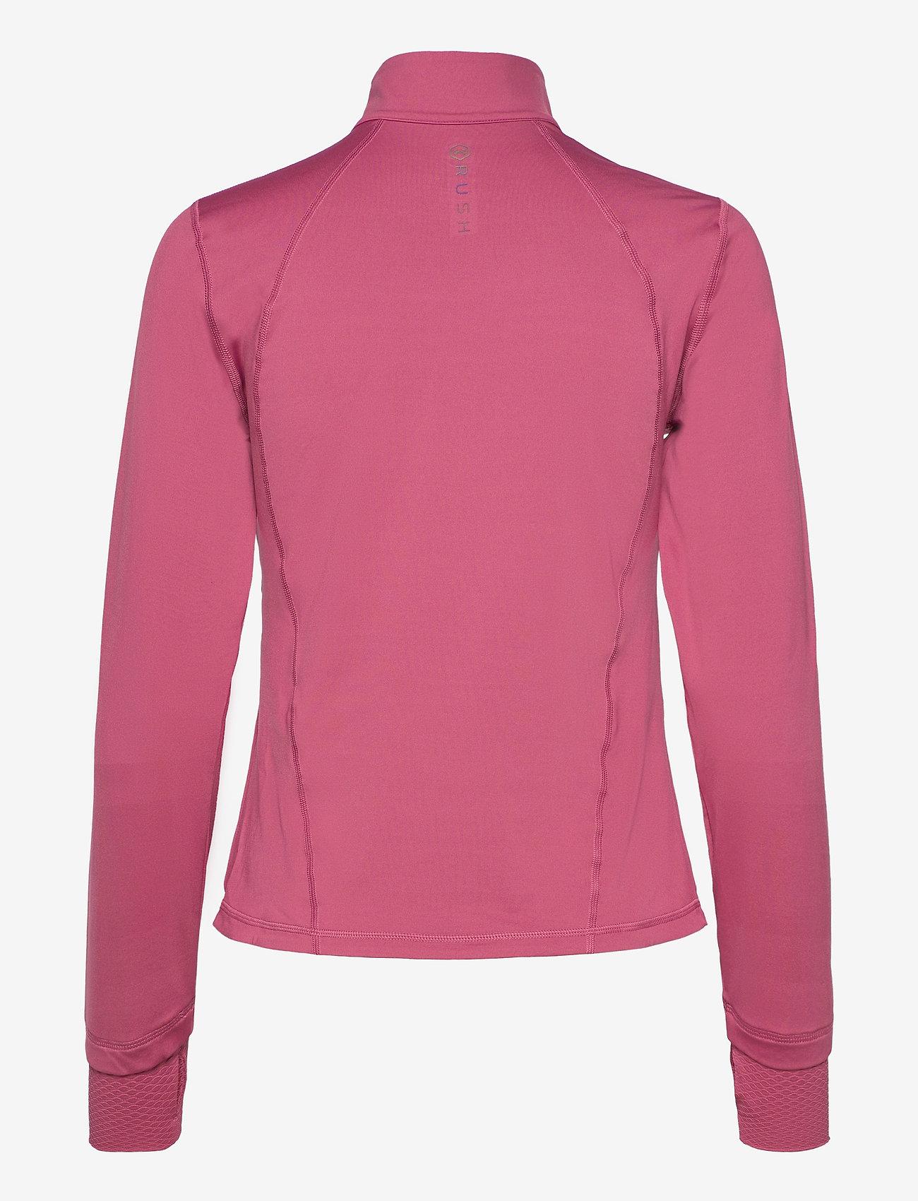 Under Armour - RUSH FZ - koulutustakit - pink quartz - 1