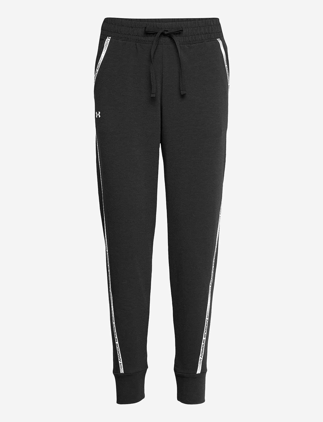 Under Armour - UA Rival Terry Taped Pant - byxor - black - 0